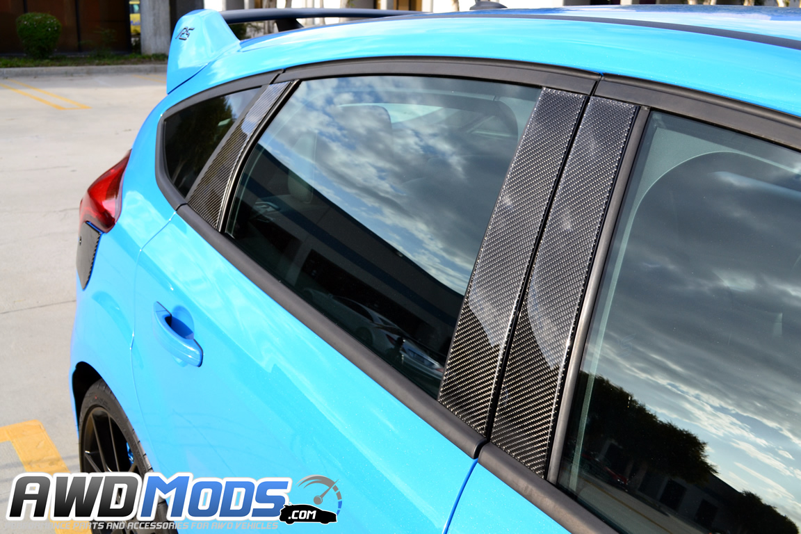Used Ford Focus St For Sale >> Ford Focus RS / ST Carbon Fiber B & C Pillar Accent Kit