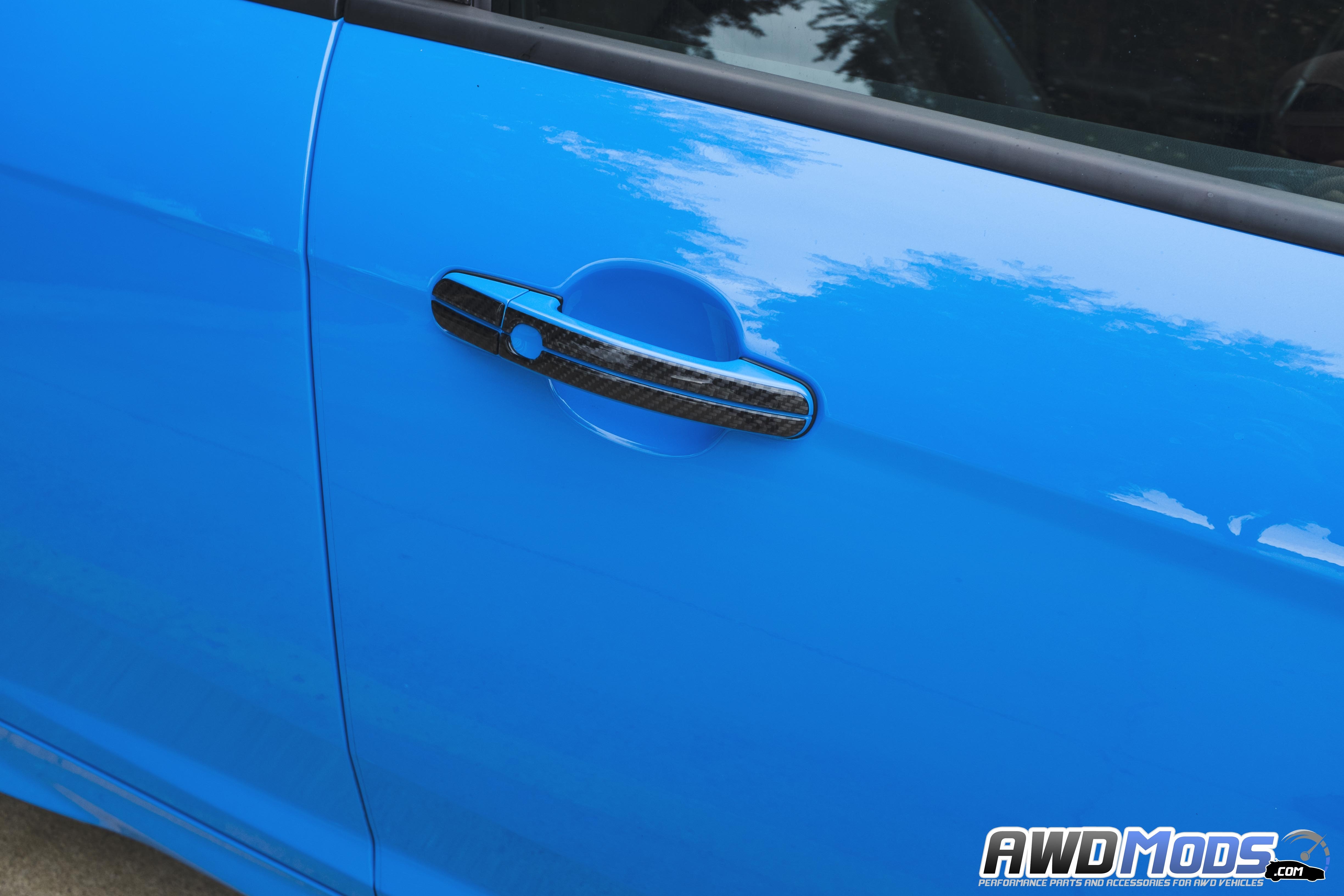 Ford Focus RS / ST Door Handle Accent Kit by Tufskinz