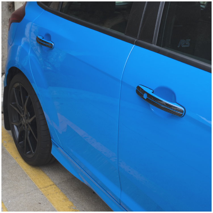 Ford Focus Rs St Door Handle Accent Kit By Tufskinzrhawdmods: Ford Focus St Engine Cover Carbon Wiring Harness At Gmaili.net