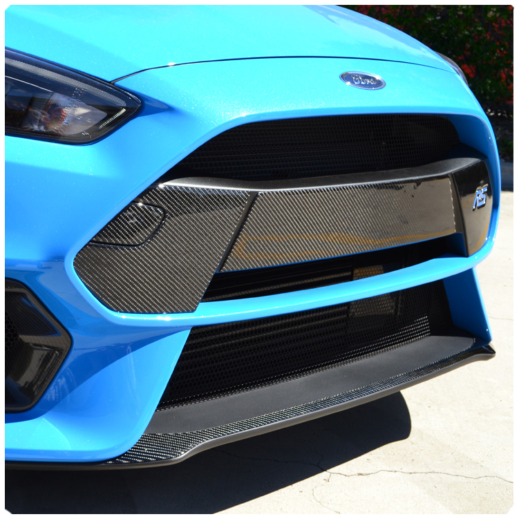 Ford Focus Rs Peel Stick Carbon Fiber Front Bumper Garnish Kit By Rhawdmods: Ford Focus St Engine Cover Carbon Wiring Harness At Gmaili.net