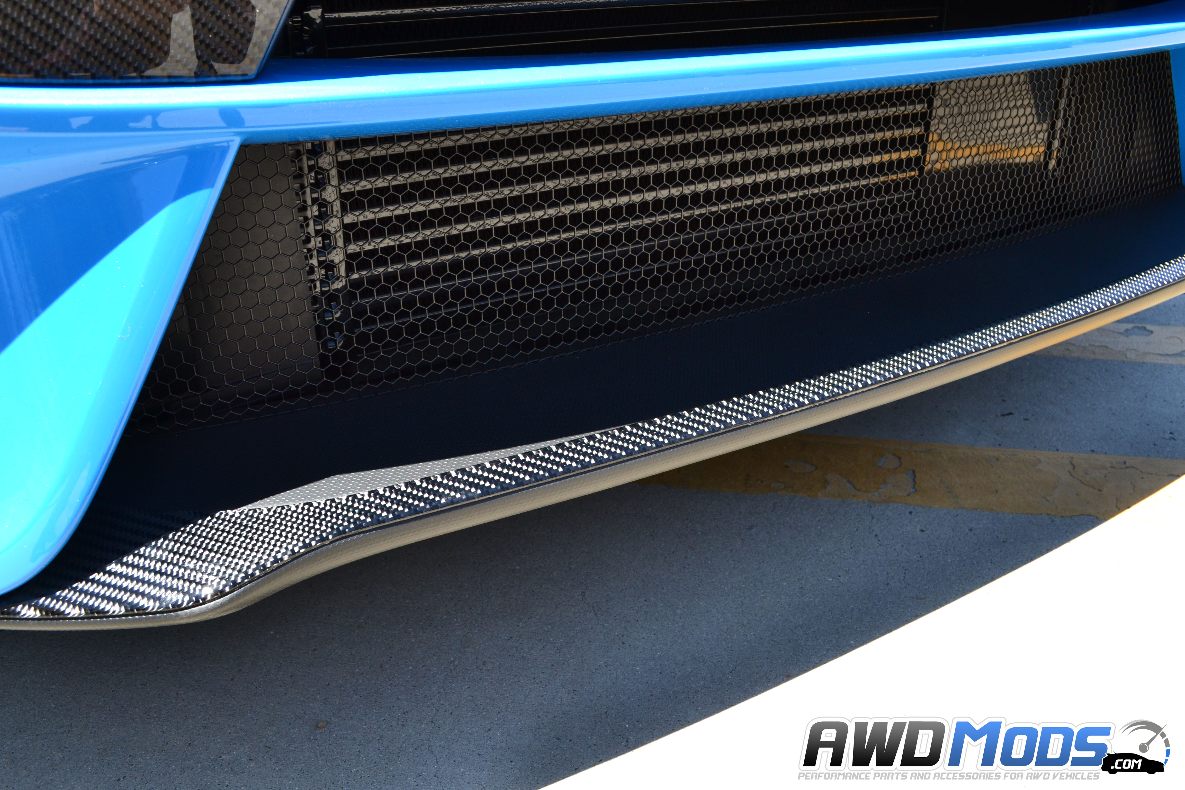 rs tufskinz peel stick carbon fiber front splitter accent kit for the ford focus
