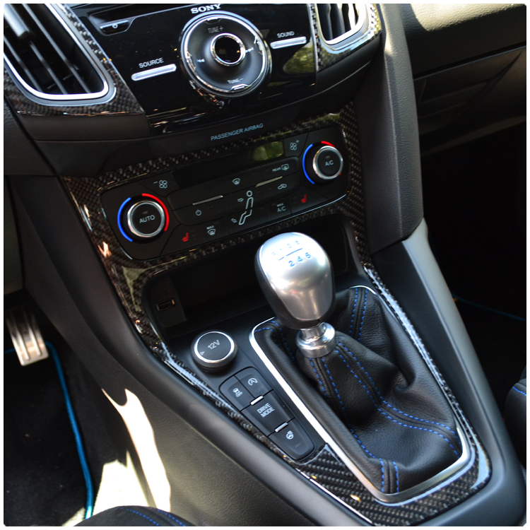 Ford Focus Rs St Peel Stick Carbon Fiber Shift Knob Accent Kit Rhawdmods: Ford Focus St Engine Cover Carbon Wiring Harness At Gmaili.net