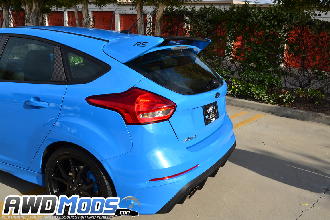 ... Tufskinz Peel & Stick Rear Spoiler Inserts for the Ford Focus RS (Set  of ...